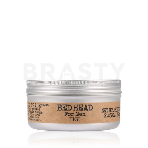 Tigi Bed Head B for Men Slick Trick Firm Hold Pomade Haarpomade für starken Halt 75 g