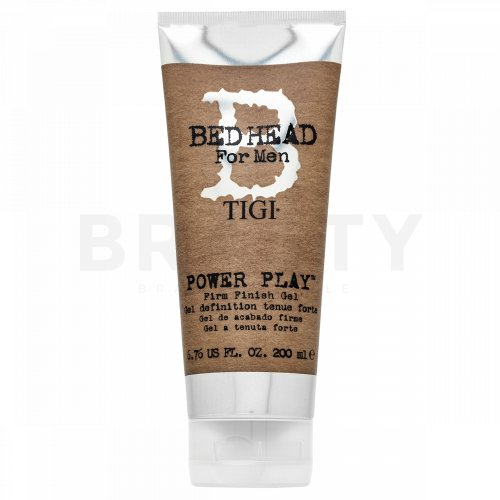 Tigi Bed Head For Men Power Play Firm Finish Gel żel do włosów do średniego utrwalenia 200 ml