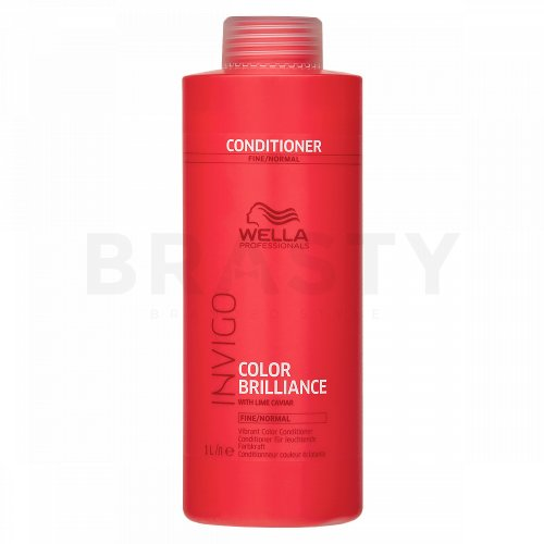 Wella Professionals Invigo Color Brilliance Vibrant Color Conditioner Conditioner für feines und gefärbtes Haar 1000 ml