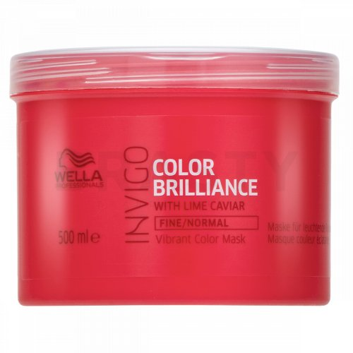 Wella Professionals Invigo Color Brilliance Vibrant Color Mask mască pentru păr fin si colorat 500 ml
