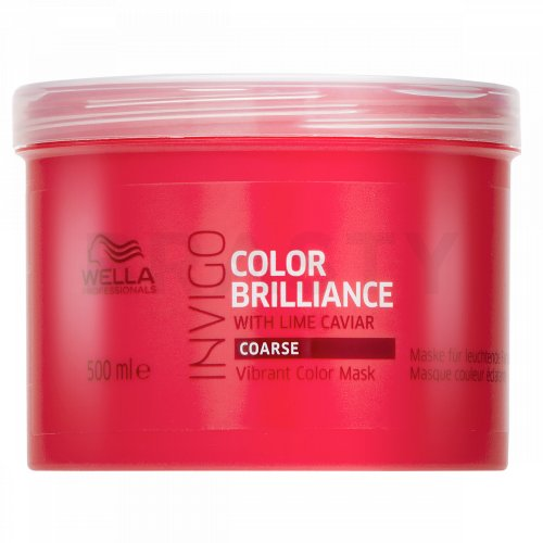 Wella Professionals Invigo Color Brilliance Vibrant Color Mask maska pro hrubé a barvené vlasy 500 ml