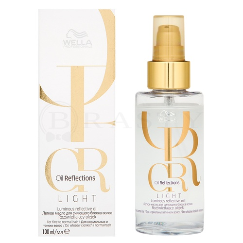 Wella Professionals Oil Reflections Light Luminous Reflective Oil Haaröl für feines und normales Haar 100 ml
