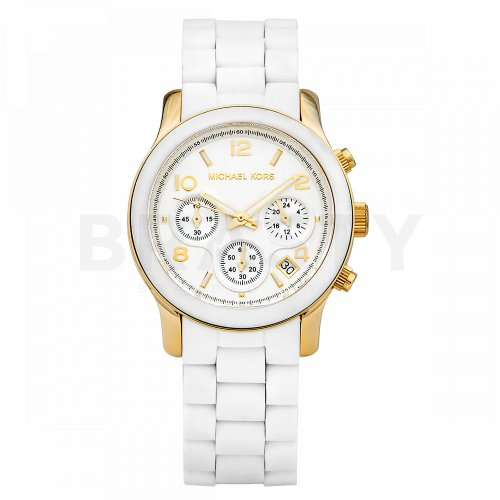 Michael Kors MK5145 damski zegarek w kolorze białym na